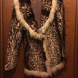 Bill Blass real fur coat